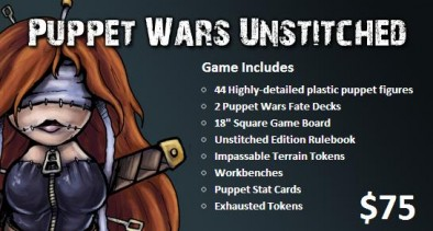 Puppet Wars Unstitched Contents