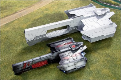 Spartan Scenics Space Ships