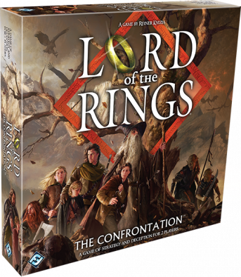 The Lord of the Rings - The Confrontation