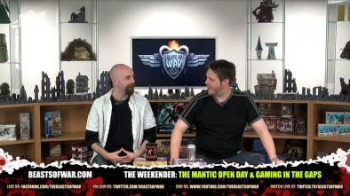 The Weekender: The Mantic Open Day & Gaming In the Gaps