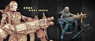 Cruz - Heavy Gunner