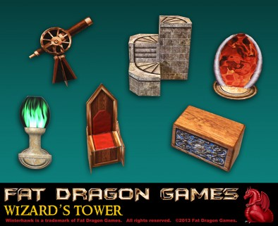 Fat Dragon Games - Wizard's Tower Accessories