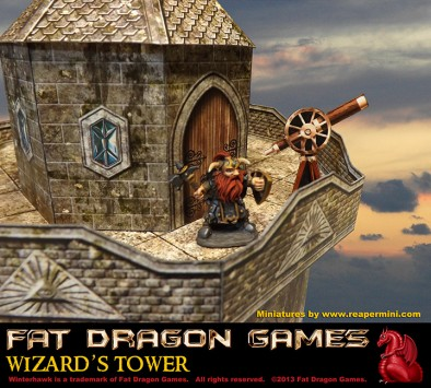Fat Dragon Games - Wizard's Tower Balcony