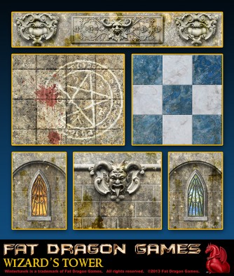 Fat Dragon Games - Wizard's Tower Contents