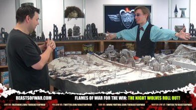 Flames of War For The Win: The Night Wolves Roll Out!