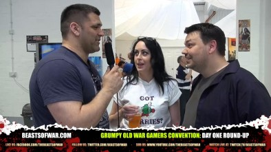 Grumpy Old War Gamers Convention: Day One Round-Up