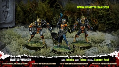 Game: Infinity Army: Tohaa Model(s): Support Pack