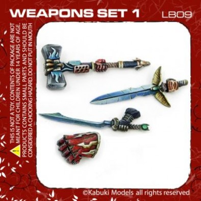 Knights of Legend Weapons