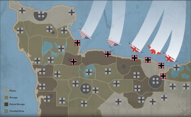 Operation Overlord Campaign Map