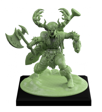 Stag Warrior (Front)