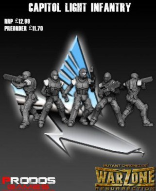 Updated Capitol Light Infantry