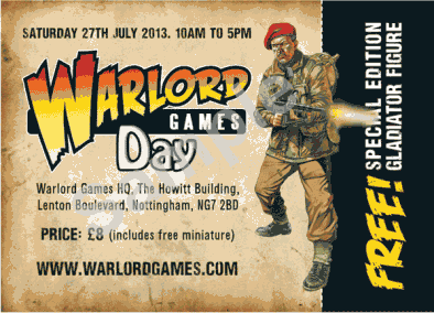Warlord Games Open Day