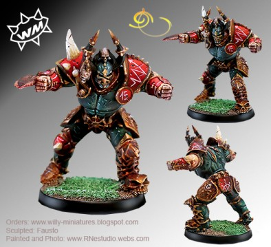 Willy Miniatures - Chaos Leader