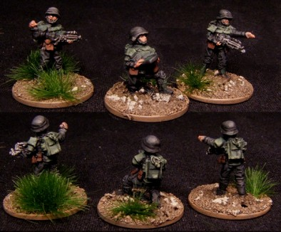 15mm Earth Force Home Guard Command