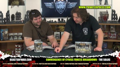 Convergence of Cyriss Forces Breakdown - The Solos