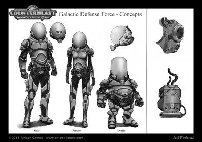 Counterblast - Galactic Defence Force