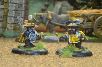 Dwarf Musketeers King's Guard