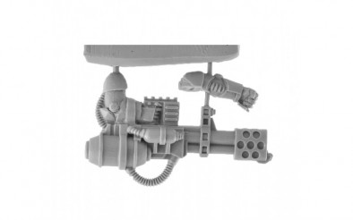 Exo-Lord Hellfire Cannon On Sprue