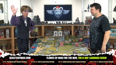Flames of War For The Win: The D-Day Landings Begin!
