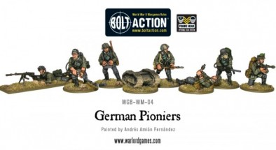 German Pioniers Miniatures