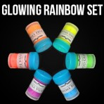 Glowing Rainbow Set