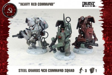 Heavy Red Command