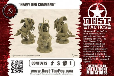 Heavy Red Command (Rear)