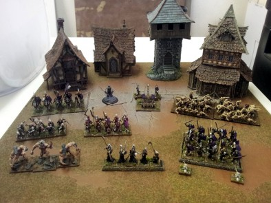 The Cursed Legion – 1000 point Undead Army