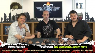 The Weekender: FoW, Warmachine & Infinity Prizes!