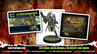 What's In The Box: Blitz Kreig, Relics Orcnar & The Infinity Gao-Tarsos