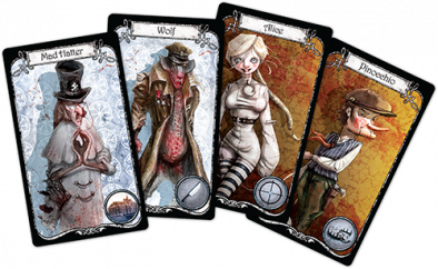 Winter Tales Character Cards