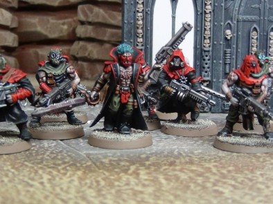 Worthy Painting - Chaos Cultists