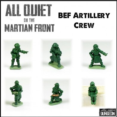 All Quiet on the Martian Front - BEF Artillery Crew