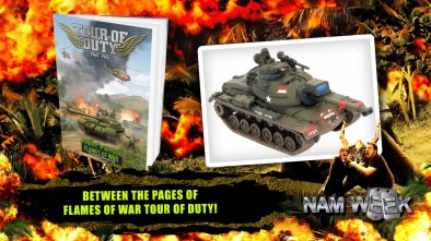 Between The Pages Of Flames Of War Tour of Duty!