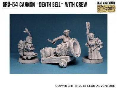 Death Bell Cannon With Crew