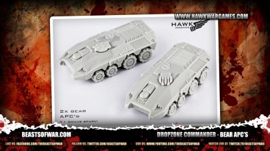 Dropzone Commander - Bear APC's