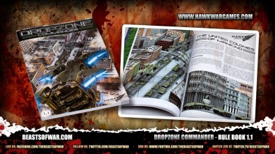 Dropzone Commander - Rule Book 1.1