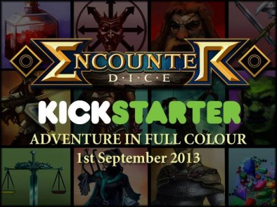 Encounter Dice Kickstarter