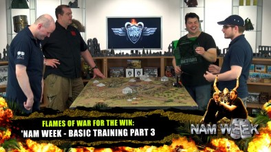 Flames Of War For The Win: 'Nam Week - Basic Training Part 3