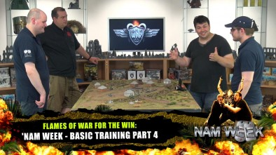 Flames Of War For The Win: 'Nam Week - Basic Training Part 4