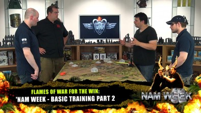 Flames of War For The Win: 'Nam Week - Basic Training Part 2