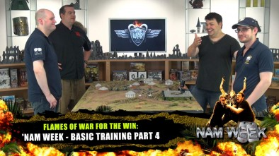 Flames of War for the Win: Nam Week - Basic Training Part 5