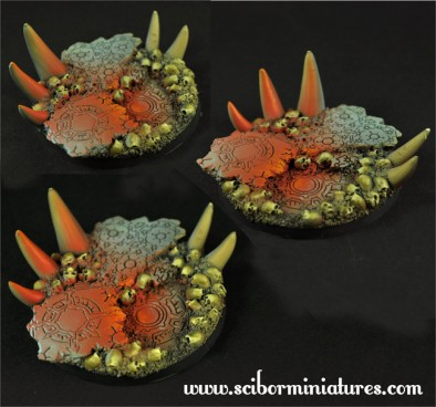 Hell Bases 60mm