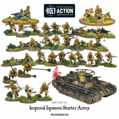 Imperial Japanese Starter Army Contents