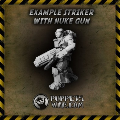 Striker With Nuke Gun