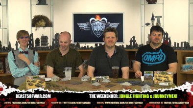 The Weekender: Jungle Fighting & Journeymen!