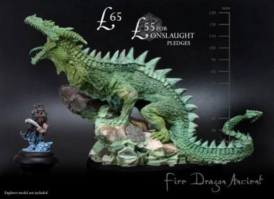 Warploque Miniatures Dragon