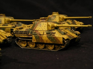 15mm Panther Tanks