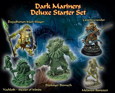Dark Mariners Deluxe Starter Set