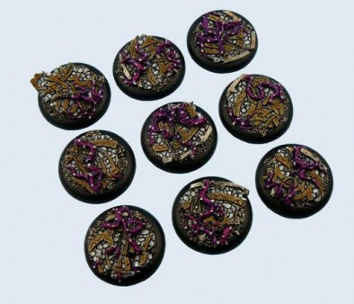 Dark Temple 30mm Bases